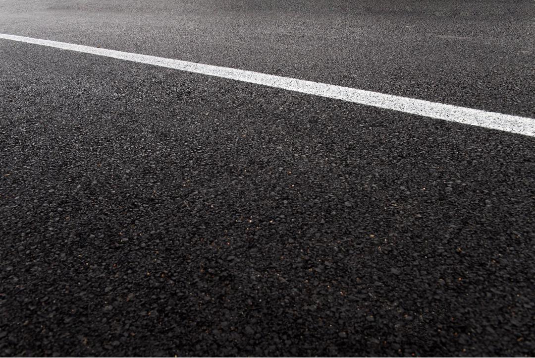 Paved asphalt parking lot in St. Augustine, Florida