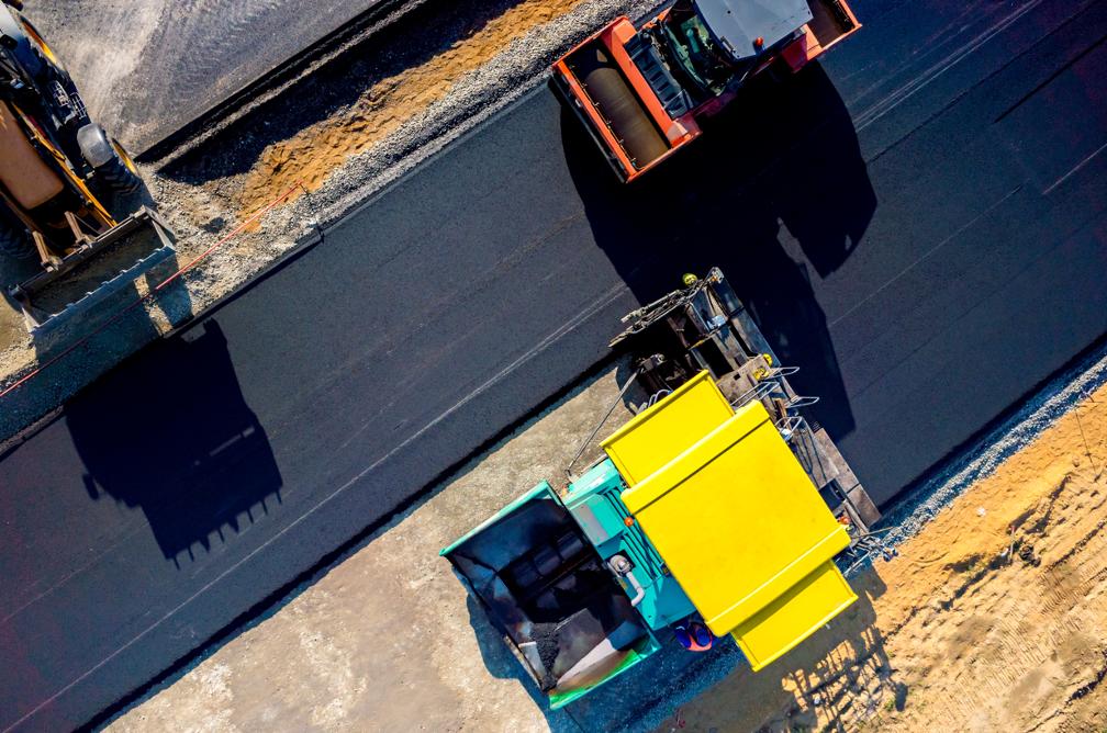 Commercial asphalt paving contractor in Orlando, Florida